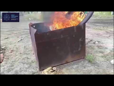 В Костанайской области сожгли вещдоки, используемые для организации незаконного игорного бизнеса
