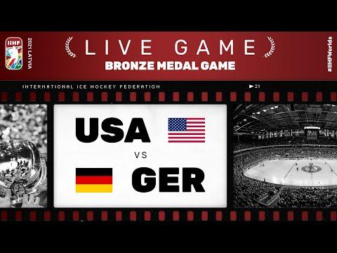 United States – Germany | Live | BRONZE MEDAL GAME | 2021 IIHF Ice Hockey World Championship
