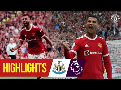Ronaldo strikes as United hit Newcastle for four   Highlights   Manchester United 4-1 Newcastle