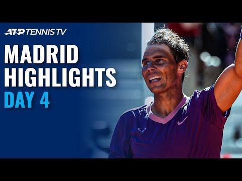 Nadal vs Alcaraz; Medvedev, Tsitsipas, Zverev in Action | Madrid 2021 Day 4 Highlights