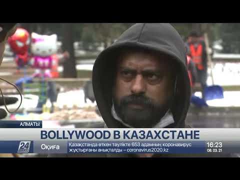 В Алматы проходят съемки индийского фильма Gaalipata-2