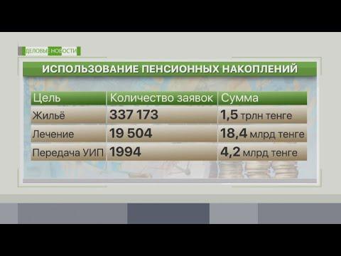 На что казахстанцы тратят пенсионные накопления