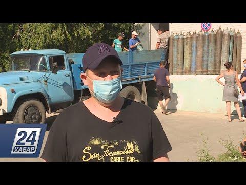 Волонтеры помогают врачам из костанайских больниц