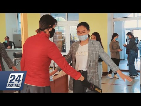ЕНТ в режиме карантина: школьники проходят пять этапов санобработки