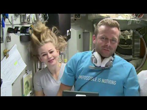 Юлия Пересильд и Клим Шипенко о том, как идут съемки первого в мире художественного кино на орбите.