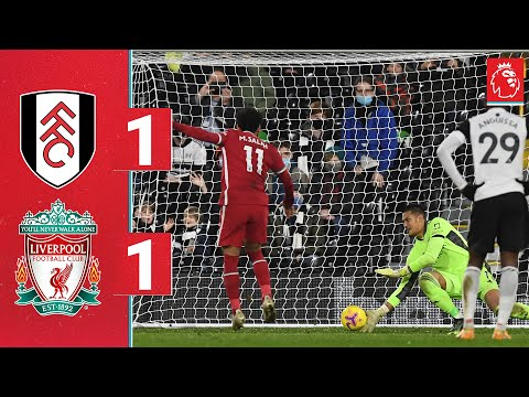 Highlights: Fulham 1-1 Liverpool | Salah secures a point from the spot