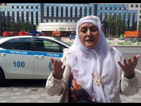 Движение женщин Казахстана,за снижение пенсионного возраста,58 лет.