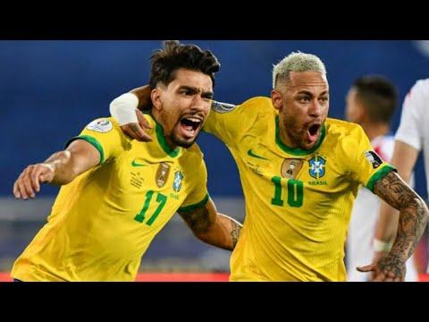Обзор матча Бразилия - Чили - 1:0. Copa America-2021. 1/4 финала
