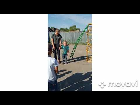 Детская площадка вместо свалки