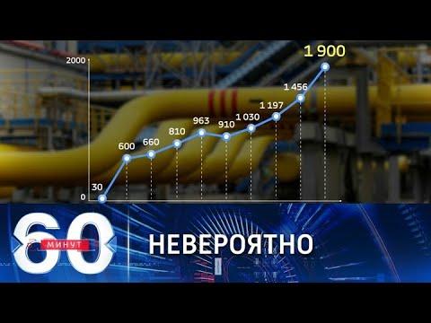 Космическая цена на голубое топливо. 60 минут по горячим следам от 06.10.21
