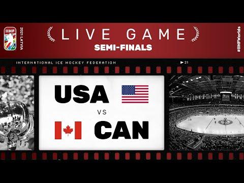 United States – Canada   Live   SEMI-FINAL   2021 IIHF Ice Hockey World Championship