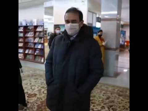 Главу КНБ в маске не узнали на избирательном участке