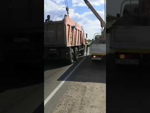 Видео с трассы «Костанай-Рудный»