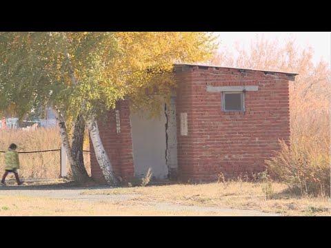 Уличными туалетами продолжают пользоваться ученики в селе Соналы