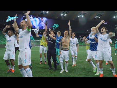 Чемпионы России после победы в Краснодаре