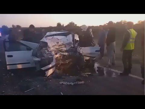 Смертельное ДТП произошло на трассе в Алматинской области