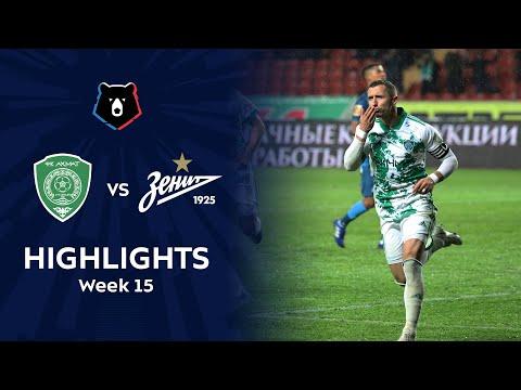 Highlights Akhmat vs Zenit (2-2) | RPL 2020/21