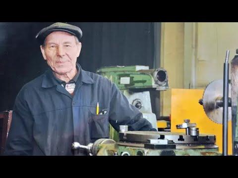 В Казахстане работает 92-летний фрезеровщик