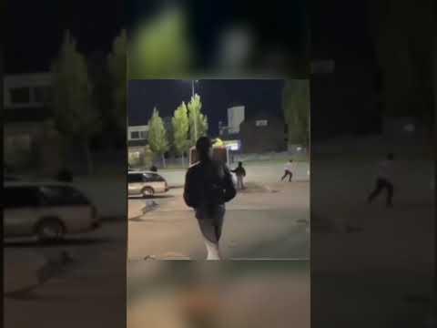 Массовый побег из полицейского автозака в Нур-Султане
