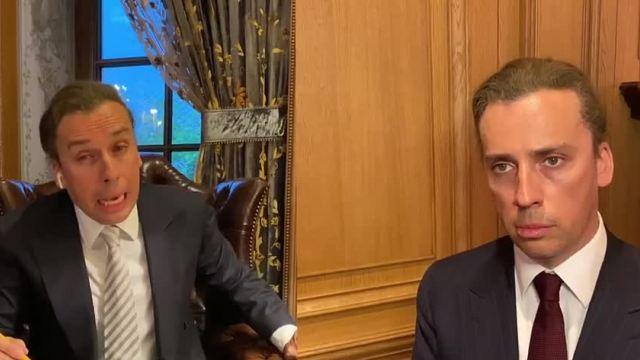 Пародия Максима Галкина на совещание Владимира Путина и Сергея Собянина