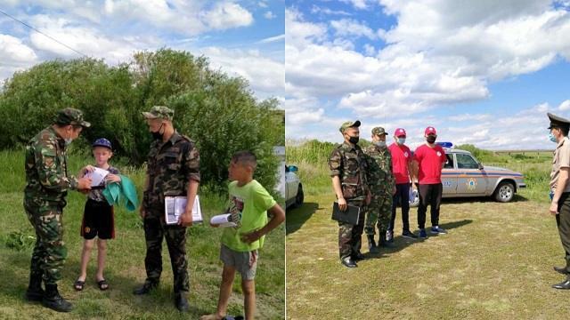 Спасателями Костанайской области проведен рейд по прибрежной зоне реки Тогузак