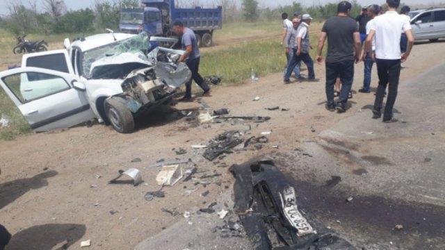 Жуткая авария в Актюбинской области: Погибли пять человек
