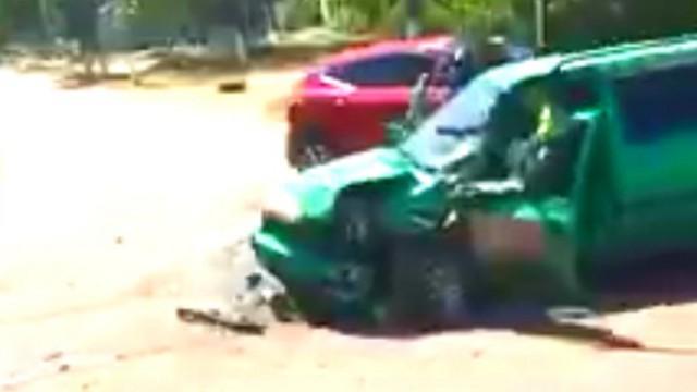 «Выехал на встречку»: Аварию в Рудном прокомментировали полицейские