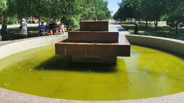 «Не фонтан!» В болото позора превратились фонтаны в Рудном