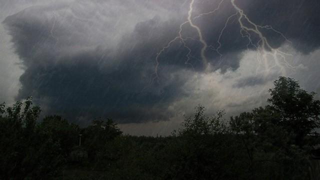 Мощный потоп в Москве 20.06.2020
