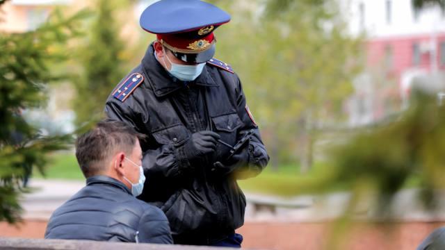 Органы внутренних дел готовы к усилению карантина в Казахстане
