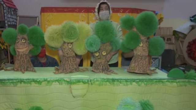 «Конец —  счастливый!» В кукольном театре Костаная готовят постановку «Красной шапочки»