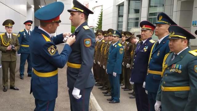 Костанайский офицер закончил Академию гражданской защиты МЧС России с отличием