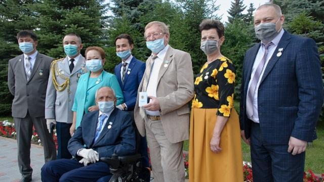 В Костанае чествовали особо отличившихся в борьбе с пандемией