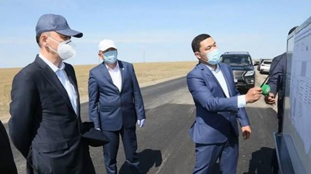 Участок трассы в Наурзумском районе отремонтируют за 477 млн тенге