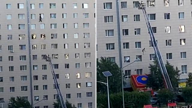 Падение из окна многоэтажки в Нур-Султане: Мужчина умер