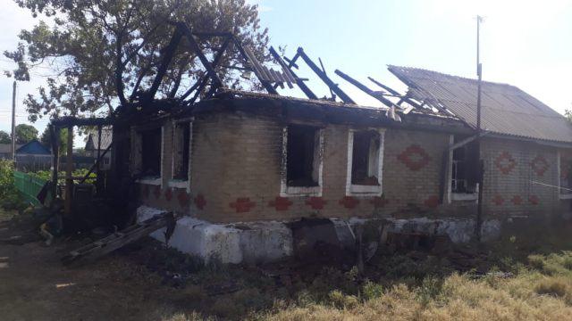 Трупы двух женщин нашли после пожара в Костанайской области