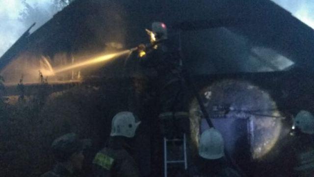 Сельчанка погибла при пожаре в Костанайской области