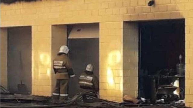 В Костанае произошло два крупных пожара