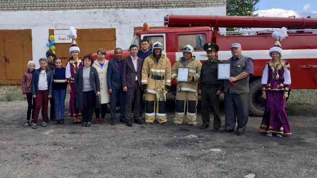 Ещё один пожарный пост открылся в селе Костанайской области
