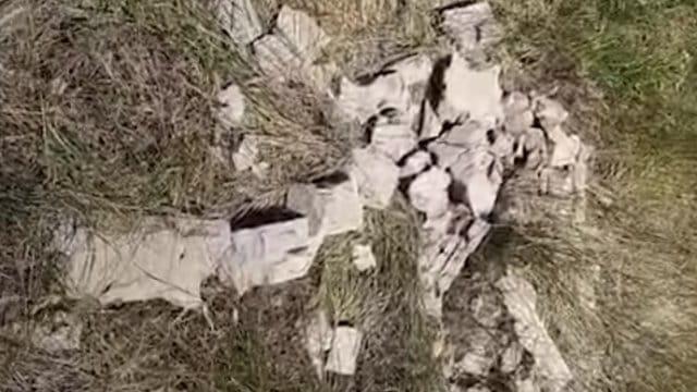 Видео: Вандал разрушил десятки надгробий на кладбище в Костанайской области