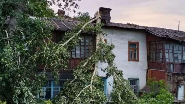 Ураган обрушился на Восточный Казахстан. Пострадали 7 человек