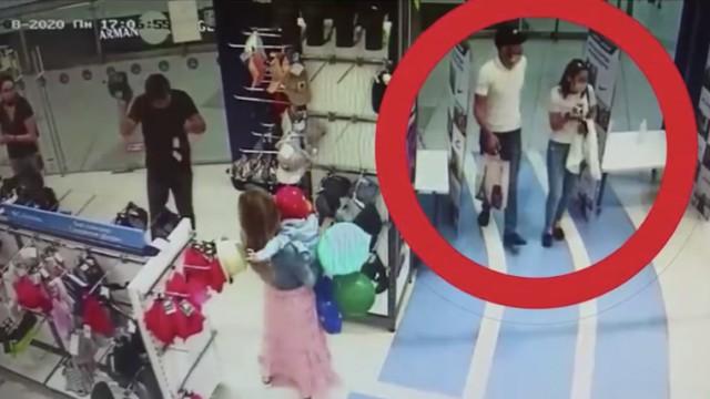 Видео: Семейная пара крала элитную одежду и сбывала её на рынке