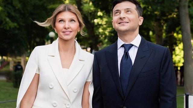 Супруга президента Украины Владимира Зеленского заразилась коронавирусом