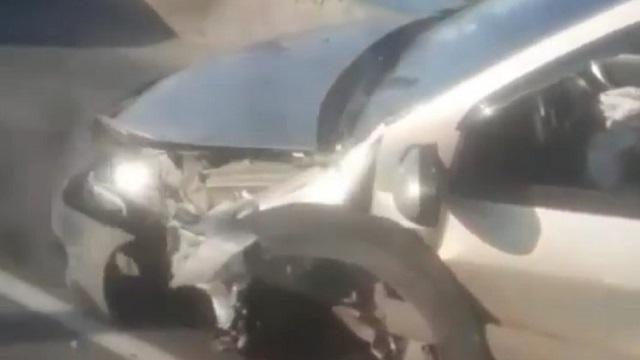 Видео: Страшное ДТП произошло на Корейском мосту в Костанае