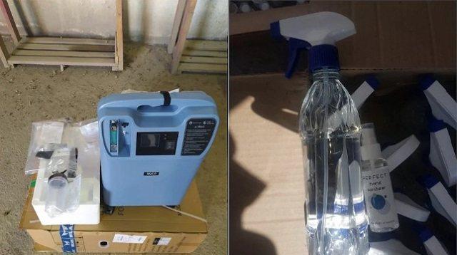 Аппараты ИВЛ и спирт пытались незаконно ввезти в Казахстан