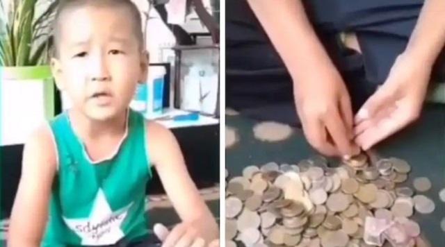 Ребенок из Косшы отправил деньги из копилки на борьбу с коронавирусом