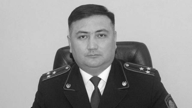 Скончался начальник полиции Усть-Каменогорска Даур Ибраев. Предварительно, от коронавируса