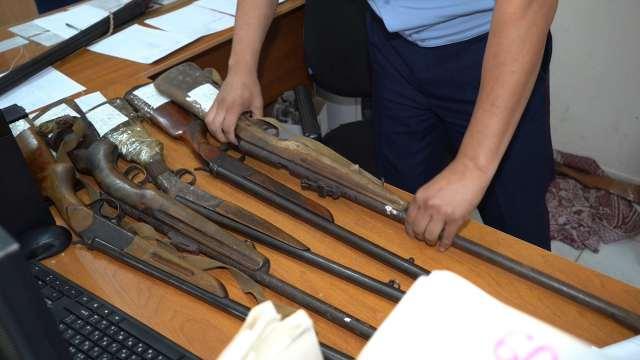 Оружие на 2,5 миллиона тенге сдано жителями Костанайской области
