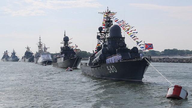 Парад на День ВМФ 26.07.2020 Владивосток