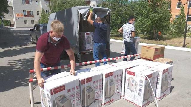 Кислородные аппараты от меценатов поступили в областную больницу Костаная
